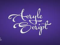 Acryle-Script