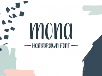 Mona-Handdrawn-Font